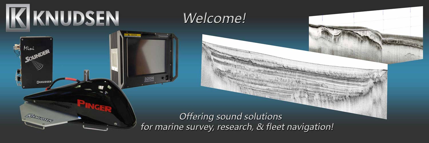 Welcome to KNUDSEN, let us help you find the single beam echosounder for your survey needs