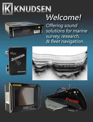Welcome to KNUDSEN, let us help you find the echosounder for your survey needs