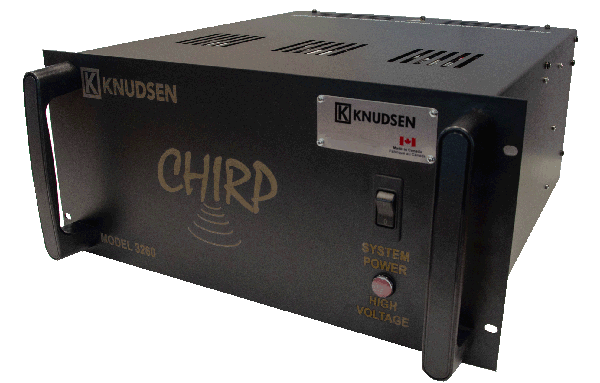 The Chirp 3260, A deep water echo sounder with the ability to survey the absolute depth of the ocean.