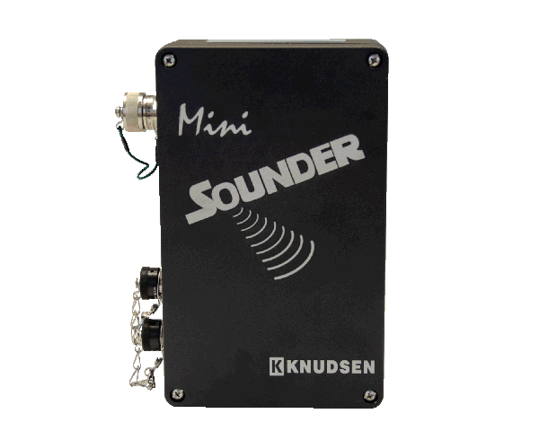 The Mini Sounder, a cost effective variant of our sounder series echo sounder line